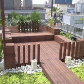 大阪市西区S邸マンション屋上